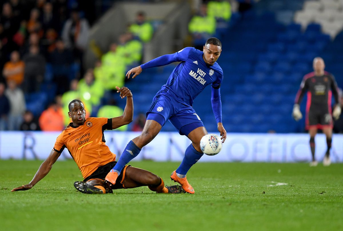 Kenneth Zohore was a key part of Cardiff's promotion-winning side (AMA/Sam Bagnall)