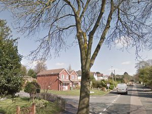 The junction of  Icknield Close and Manor Road, Streetly. Photo: Google StreetView.