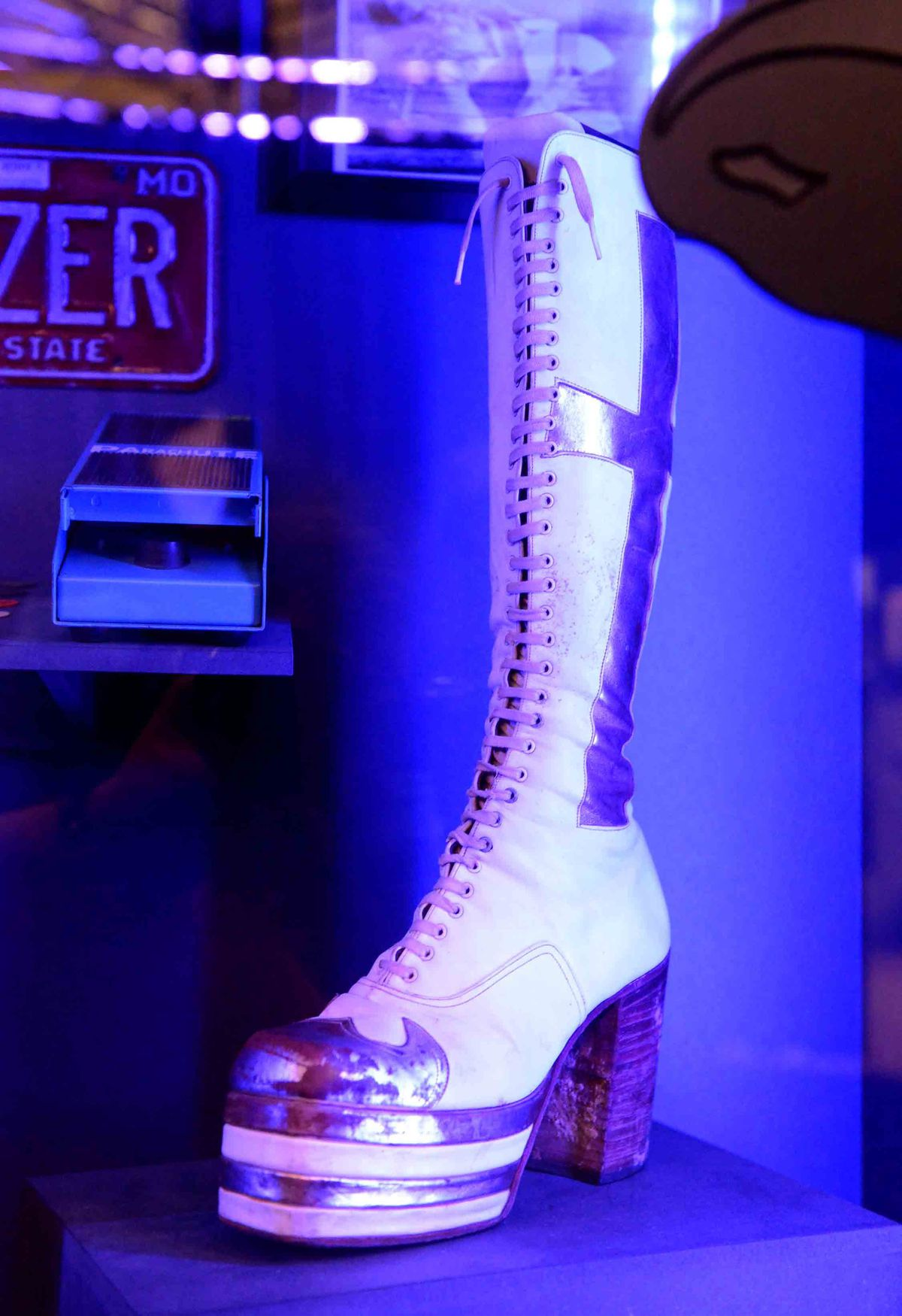 Geezer's stage wear