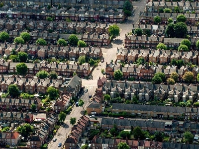 Slower growth in households projected for England