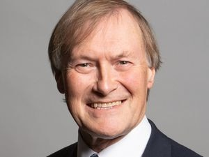 Undated handout photo issued by UK Parliament of Conservative MP Sir David Amess who has been stabbed several times at a surgery in his Southend West constituency, according to reports. Issue date: Friday October 15, 2021. PA Photo. See PA story POLICE MP . Photo credit should read: Chris McAndrew/PA Wire NOTE TO EDITORS: This handout photo may only be used in for editorial reporting purposes for the contemporaneous illustration of events, things or the people in the image or facts mentioned in the caption. Reuse of the picture may require further permission from the copyright holder.