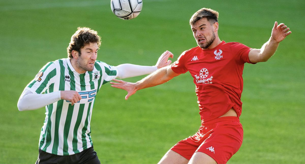 Kidderminster Harriers vs Blyth Spartans match action (pic Paul France)