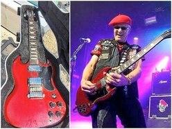 Happy talk as Captain Sensible gets guitar back