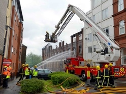Impact on apartments plan unclear after fire ravages old leatherworks