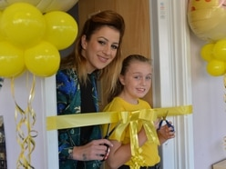 Wolverhampton singing sensation Megan Reece opens wellbeing room