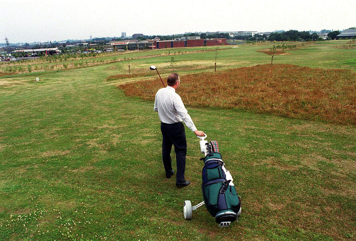 Former Reedswood Golf Course in Walsall is among the sites