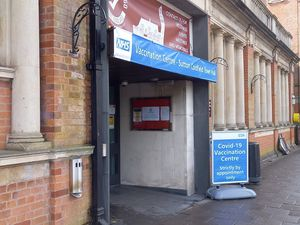 Sutton Coldfield Town Hall is home to the vaccine programme