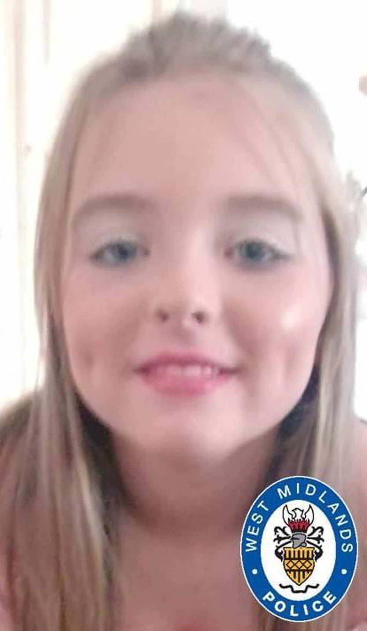 Destiny Bradbury has been missing since leaving her home on Friday, June 18 (Image by West Midlands Police)