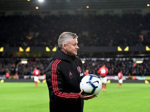 Ole Gunnar Solskjaer suffered two defeats at Molineux last season (© AMA SPORTS PHOTO AGENCY)