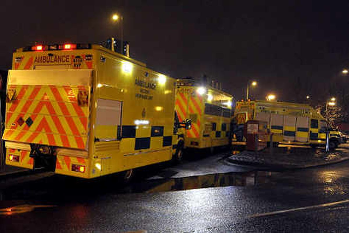 Ambulance crews being held up by hospital delays