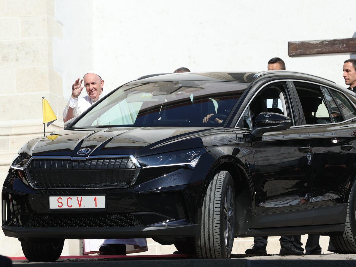 Skoda Pope Visit