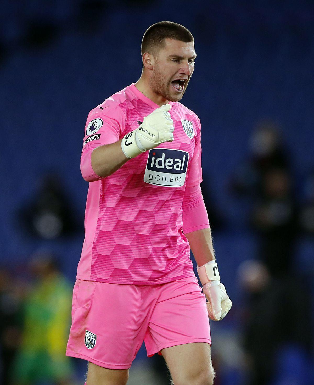 West Bromwich Albion goalkeeper Sam Johnstone.