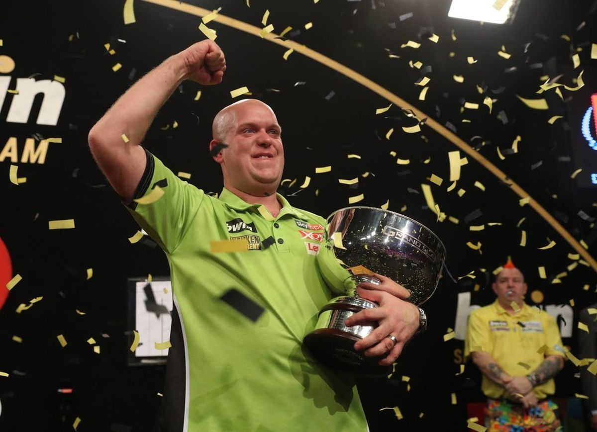 Previous winner Michael van Gerwen