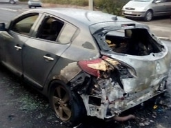 Cars torched and wrecked in 12-hour 'trail of destruction'