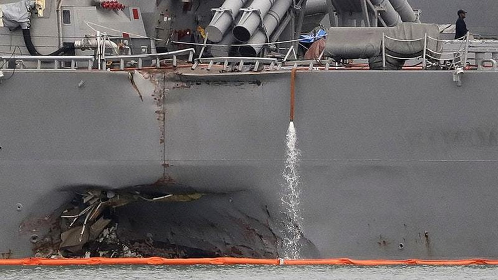 Second sailor killed in USS John S. McCain mishap identified