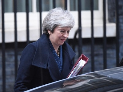 Many Tory MPs publicly backing Theresa May ahead of decision on her future