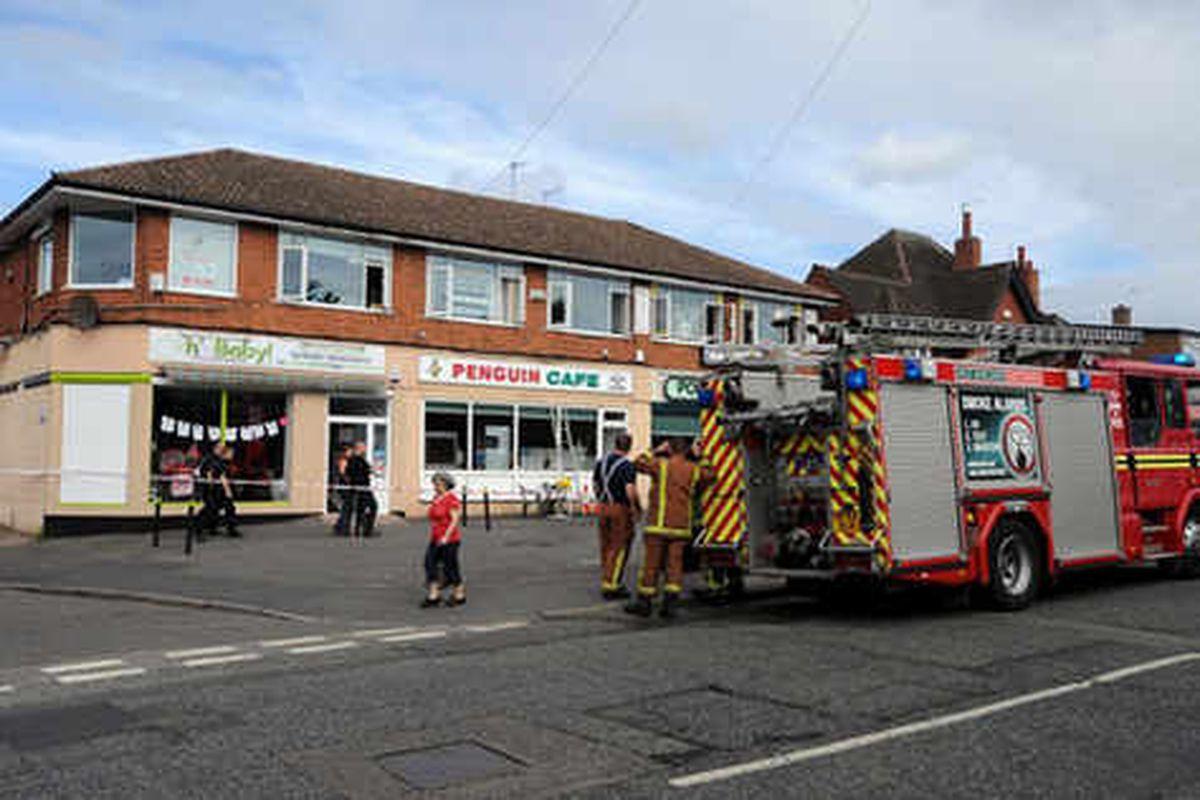 Arson attack forces closure of precinct