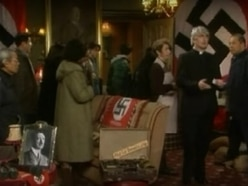 Oh no Father Ted! Theatre-goers storm out over swastika use