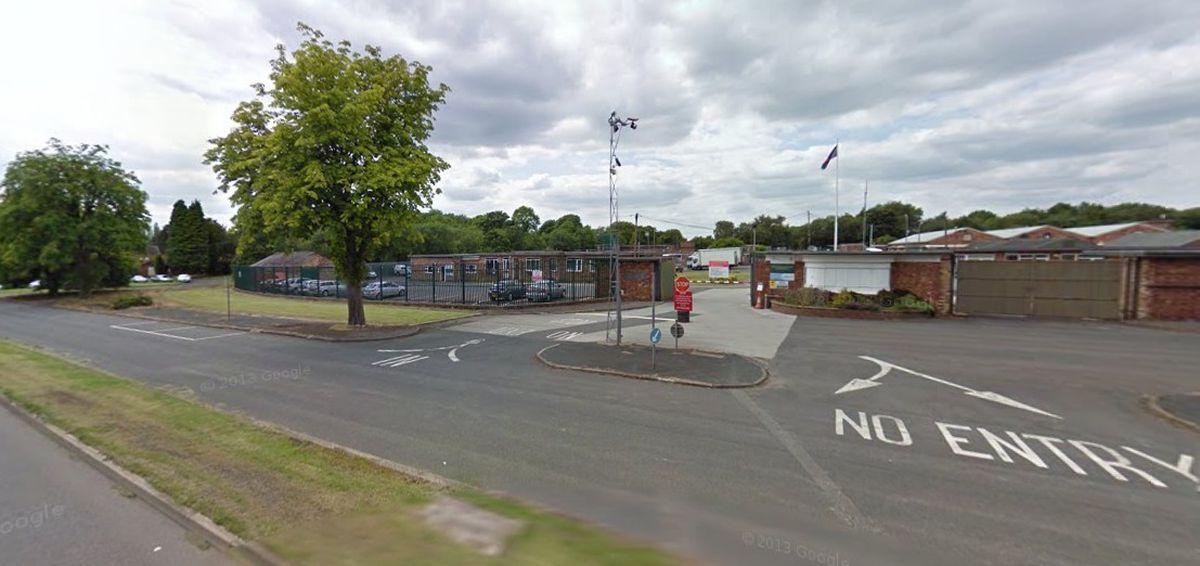 A Google Street View Image Of Swynnerton Training Camp