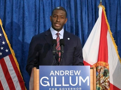 Democrat concedes defeat as bid to become Florida's first black governor fails