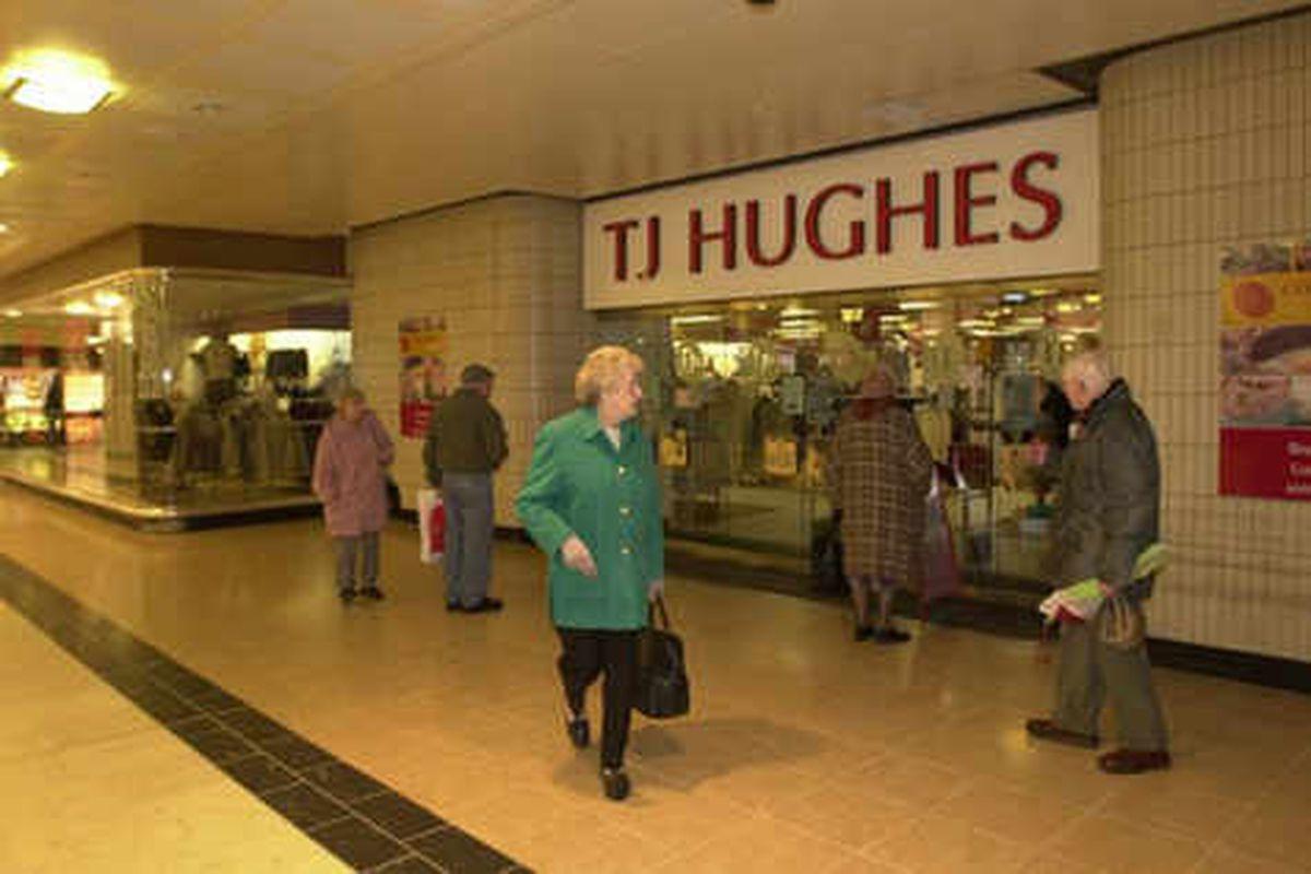 TJ Hughes stores to close down