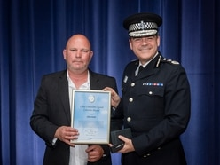 Man up for bravery award for pursuing killer of young brothers