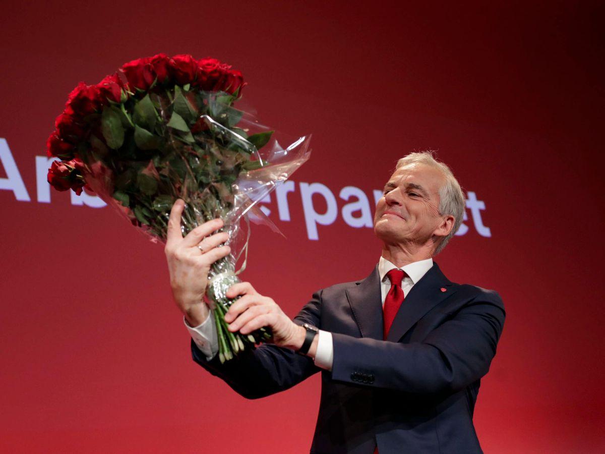 Labour leader Jonas Gahr Stoere