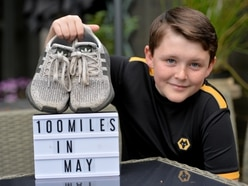 Schoolboy Will's 100-miles walking challenge for NHS charity