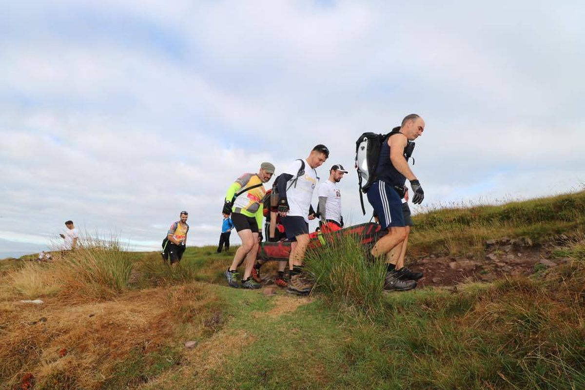 The Lord Bilston Big Challenge: Carry the Load' took place in July