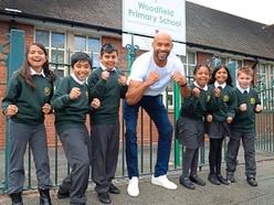 WATCH: Matt Murray makes special visit to Wolverhampton primary school