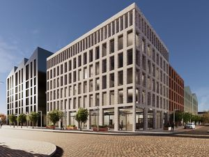 Artist's impression of the proposed Brewers Yard development in Wolverhampton. Photo: Wolverhampton Council.