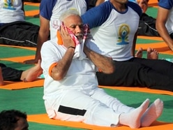Indian PM marks world yoga day with plea to celebrate country's culture