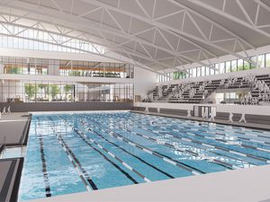 Artist's impression of the pool. Image: Sandwell Council.
