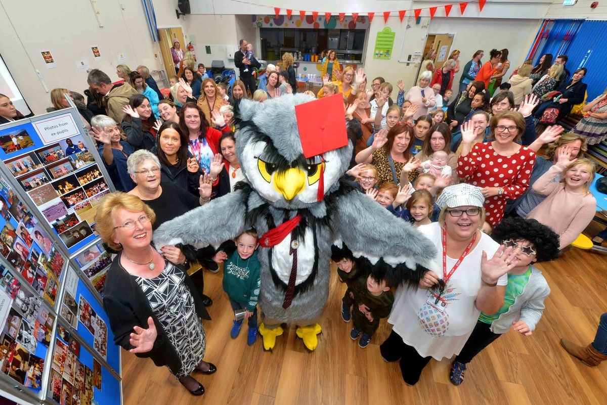 The event at Perton First School