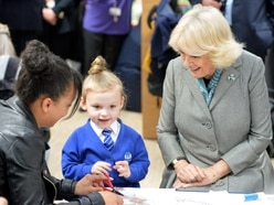 GALLERY: Art, craft and storytelling as Duchess of Cornwall opens revamped library