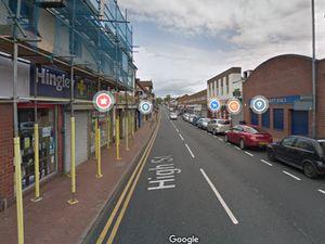 High Street in Cradley Heath. Photo: Google Street View