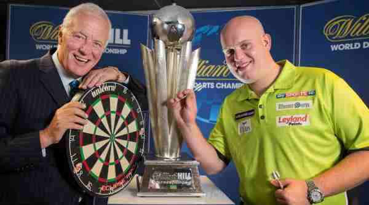 Hearn has revolutionised darts and many of its players, including world champion Michael van Gerwen.