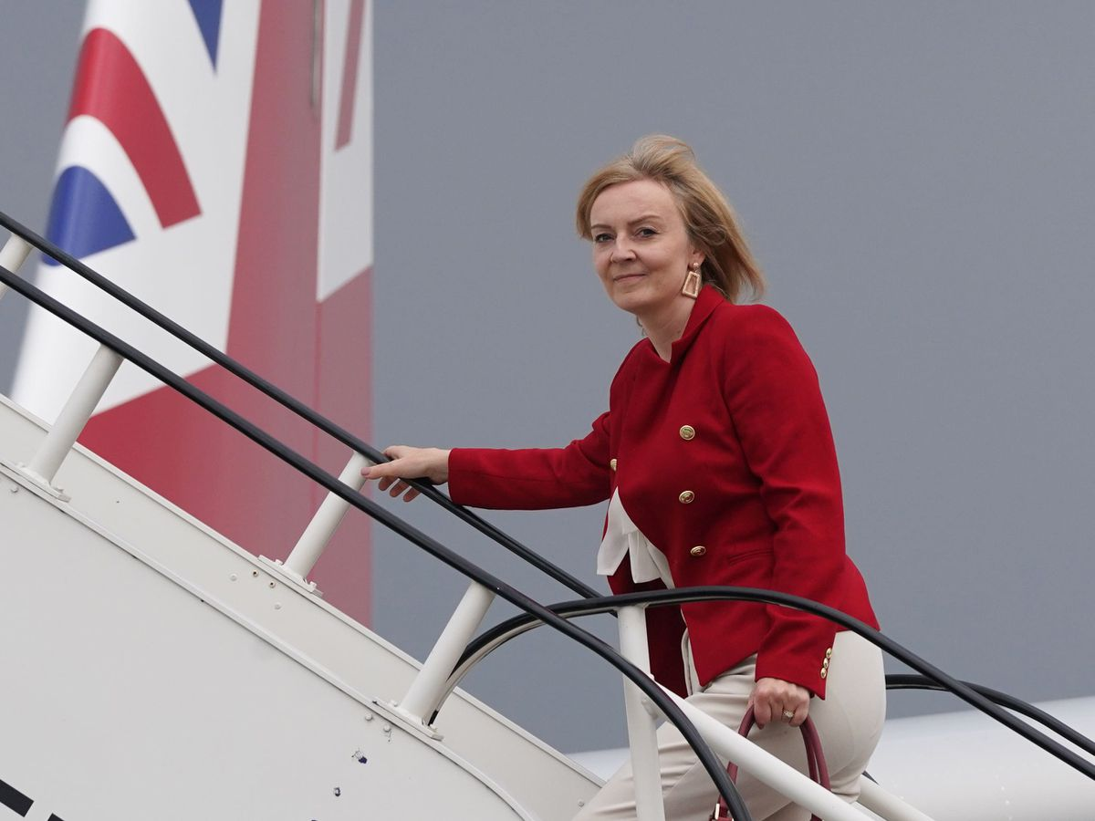 Foreign Secretary Liz Truss is in the US for the United Nations general assembl