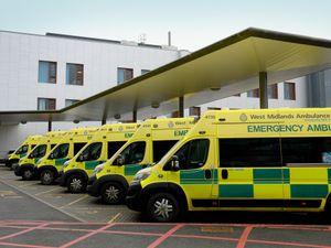 The ambulance service is under pressure.