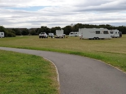 Travellers set up illegal camp on Walsall playing fields