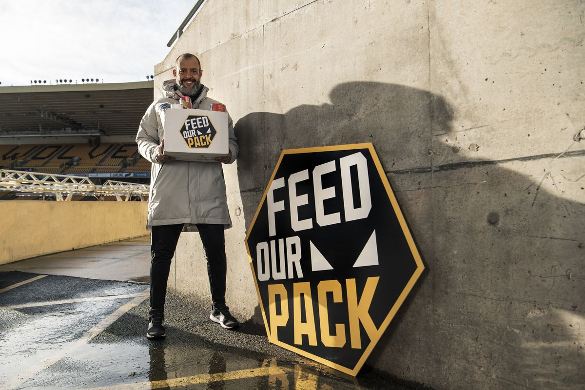 Wolf Chief Nuno Espirito Santo eager to engage community after £ 250,000 donation to fight poverty