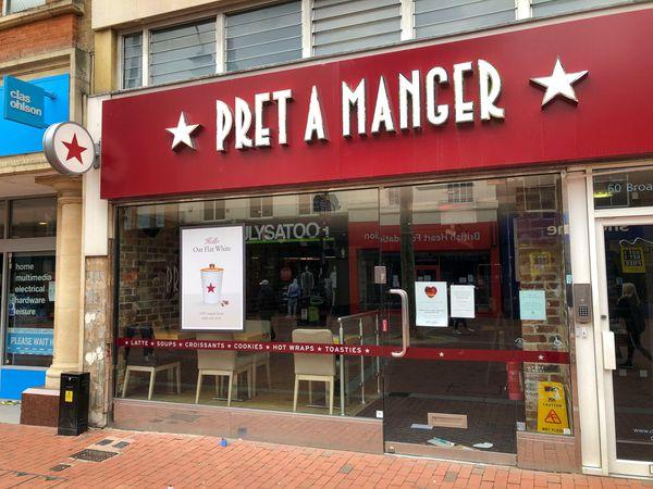 Pret A Manger closures