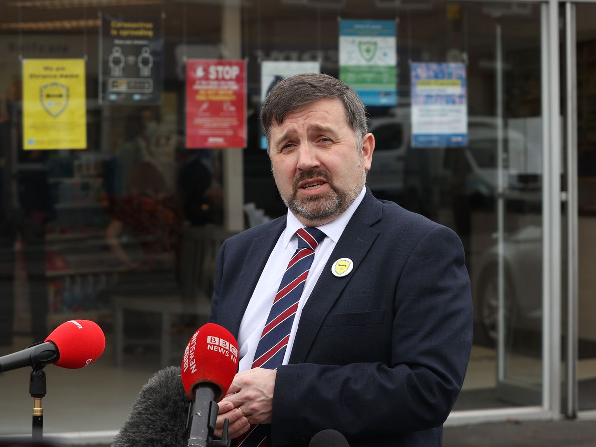Minister for Heath Robin Swann