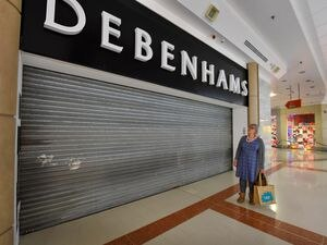 The shutters will be rolled up again at Debenhams at Merry Hill