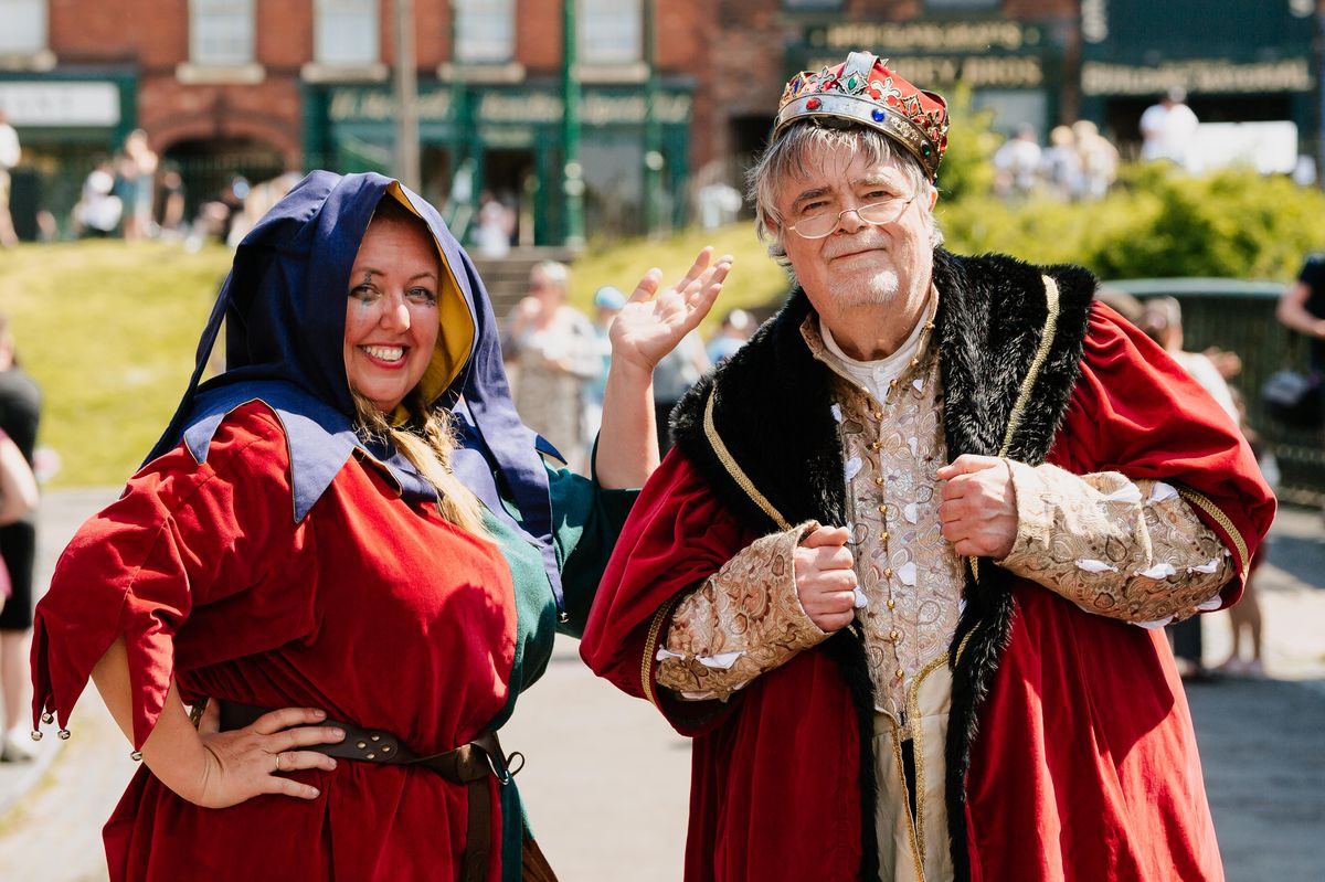 Black Country Living Museum May Half Term Activities - Loff out Loud! Jester and The King