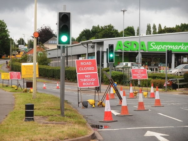 Cannock road closed for six weeks as designer outlet work continues
