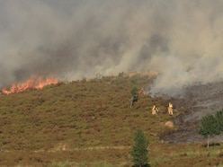 Fire service warns of wildfire risk over Easter weekend