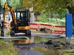3,000 homes left without water as pipe bursts under A38