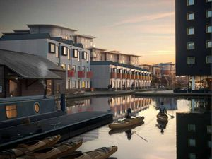 Artist impression of the proposed Walsall Waterside development. Photo: Shed KM