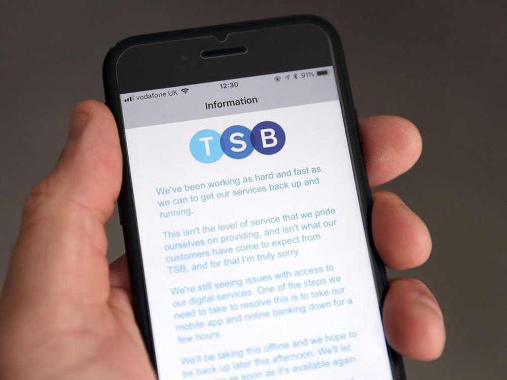 TSB bank customers say online services still not fixed